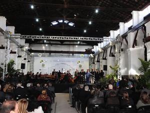 Galpão dos Lemos, nova sede da Orquestra Sinfônica de Campinas (Foto: Luiz Granzotto / Prefeitura de Campinas)