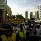 Ciclistas homenageiam a padroeira (Divulgação Eko)