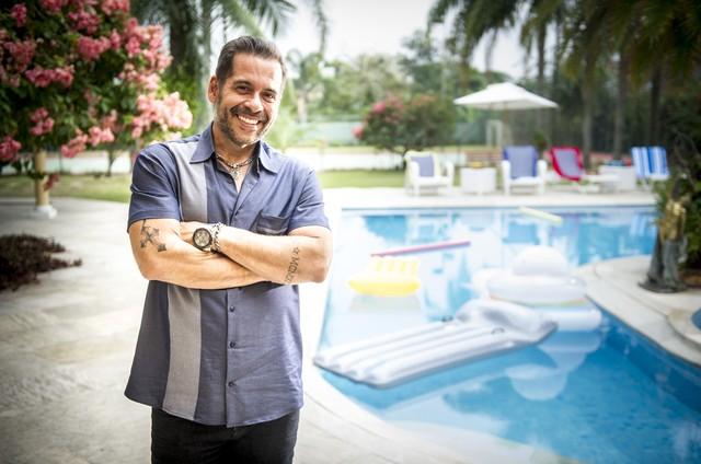 Leandro Hassum em 'Chapa quente' (Foto: Globo/João Miguel Júnior)