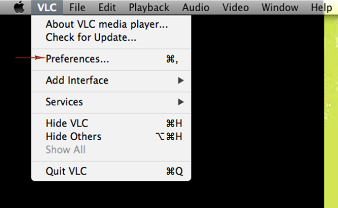 Selecionando Configurações no menu principal (Foto: Reprodução)