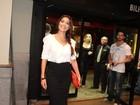Juliana Paes, Dieckmann e outros famosos vão a  reestreia de peça no Rio