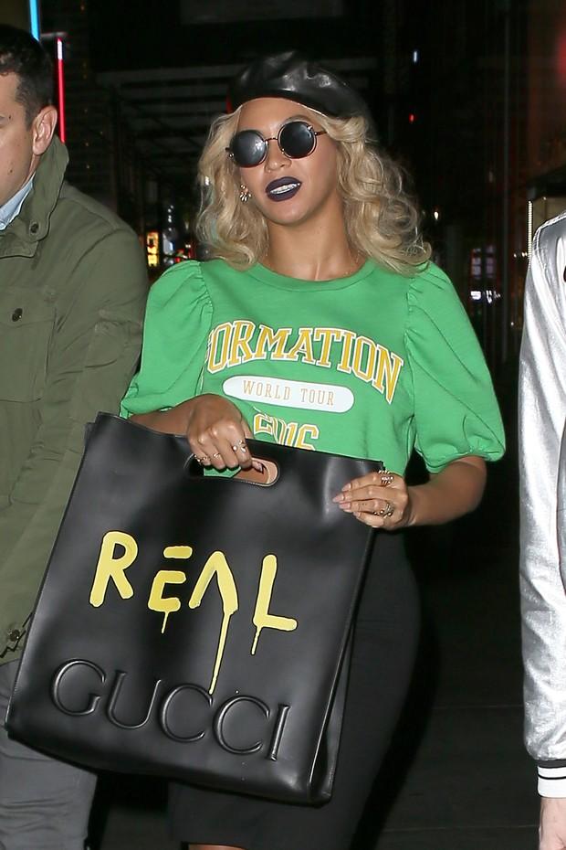 Beyoncé em Nova York, nos Estados Unidos (Foto: AKM-GSI/ Agência)
