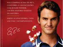 Sem vinda de Federer, Lindt levará sorteados até a Suíça (Divulgação)