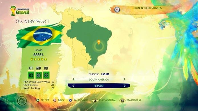 Copa do Mundo Fifa 2014: aprenda a convocar sua própria seleção (Foto: Reprodução/Murilo Molina)