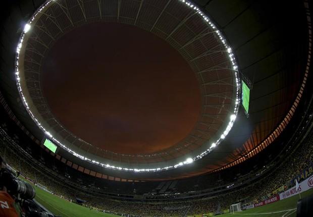 O estádio Mané Garrincha (Foto: Agência EFE)