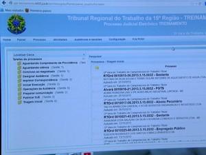 Novo sistema irá funcionar em 12 Varas do Trabalho de Campinas (Foto: Reprodução/ EPTV)