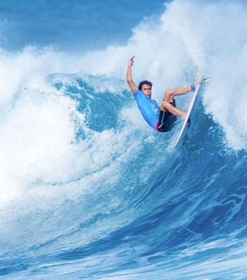Kai Otton Mundial de Surfe Fiji (Foto: Divulgação/WSL)