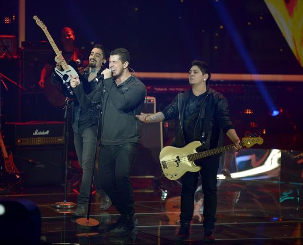 Banda Malta duelos superstar (Foto: Camila Serejo / TV Globo)