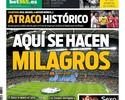 """Imprensa catalã cutuca vitória do Real Madrid: """"Assalto histórico"""""""