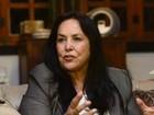 Rose de Freitas vai à sessão do impeachment após suspeita de AVC