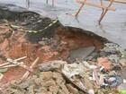 Em Hortolândia, cratera dificulta o acesso de moradores de 4 bairros