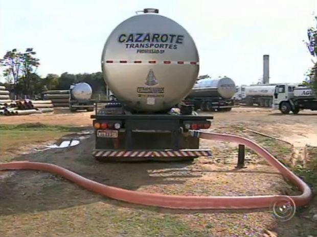Estação de Tratamento e Abastecimento de Água do Pirapitingui (Foto: Reprodução/TV TEM)
