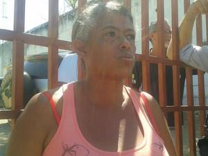 Dona Francisca - Rebelião Casa de Custódia - teresina (Foto: Gustavo Almeida/G1)
