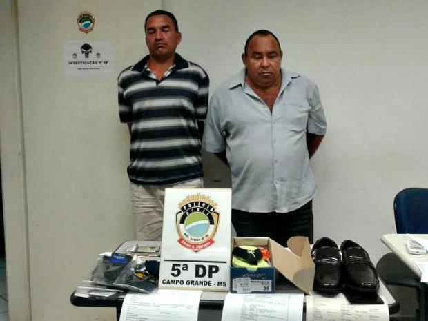 Suspeitos confessaram aplicar golpes em MS (Foto: Graziela Rezende/G1 MS)