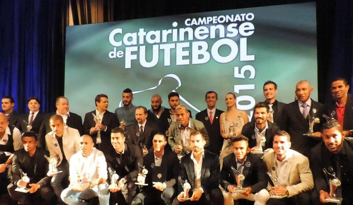 Top da Bola Catarinense 2015 (Foto: Diego Madruga)