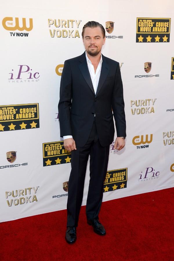 DiCaprio no Critics' Choice Movie Awards (Foto: Getty Images)