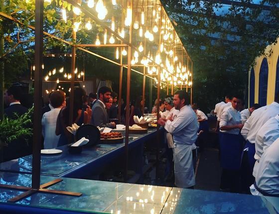 Pedro de Artagão e sua equipe do Grupo Irajá criam catering (Foto: Divulgação)