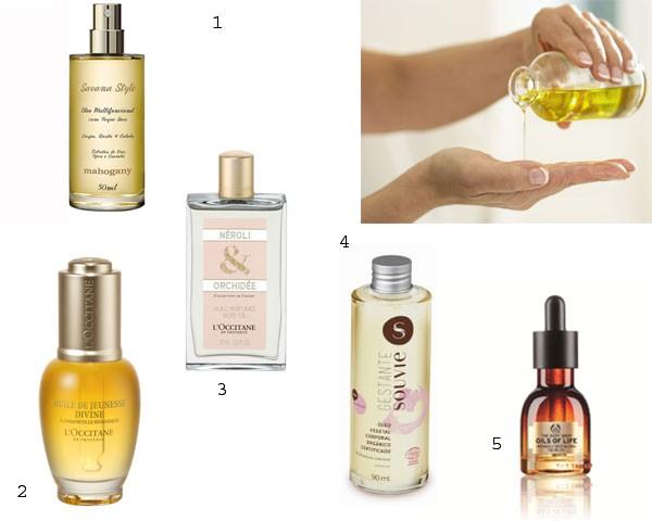 Use e abuse dos óleos para hidratar a pele e o cabelo no inverno. Saiba como!