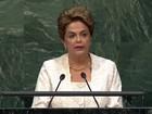 Dilma recua e não fala em golpe durante discurso na ONU