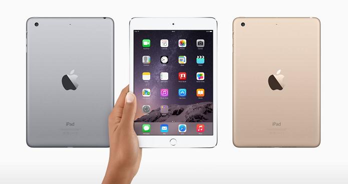 iPad mini 3 é menor e mais barato (Foto: Divulgação)