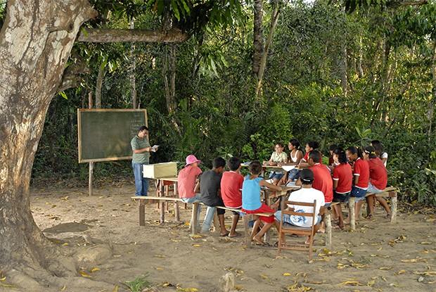 Galeria 4 - Acre - Poronga Escola Rural São Miquel - Xapuri (Foto: Guanabaratejo)
