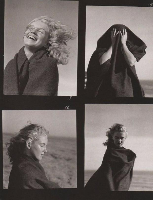 À flor da pele: a beleza de Marilyn Monroe em fotos da musa aos 20 anos