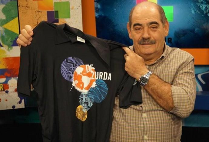 Rivelino foi convidado especial de Maradona no programa que o argentino apresenta no Rio de Janeiro (Foto: De Zurda)