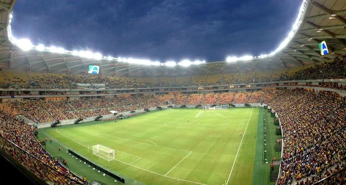 Arena da Amazônia - Brasil x Haiti (Foto: Andrezza Lifsitch/G1 Amazonas)