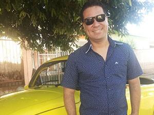 Marcelo Honorato é repórter da TV Integração e apresentador do Tô Indo (Foto: Arquivo Pessoal)