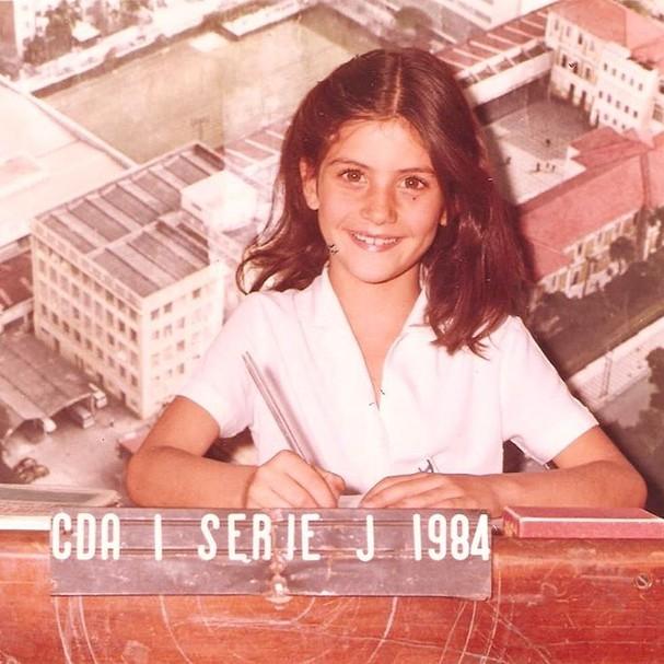 Isabella Fiorentino na infância (Foto: Reprodução/Instagram)