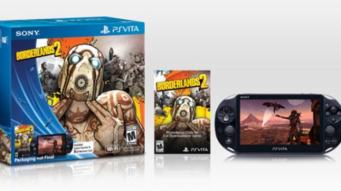 PS Vita Slim será vendido em pacote com Borderlands 2 por tempo limitado (Foto: eyeonmobility.com)