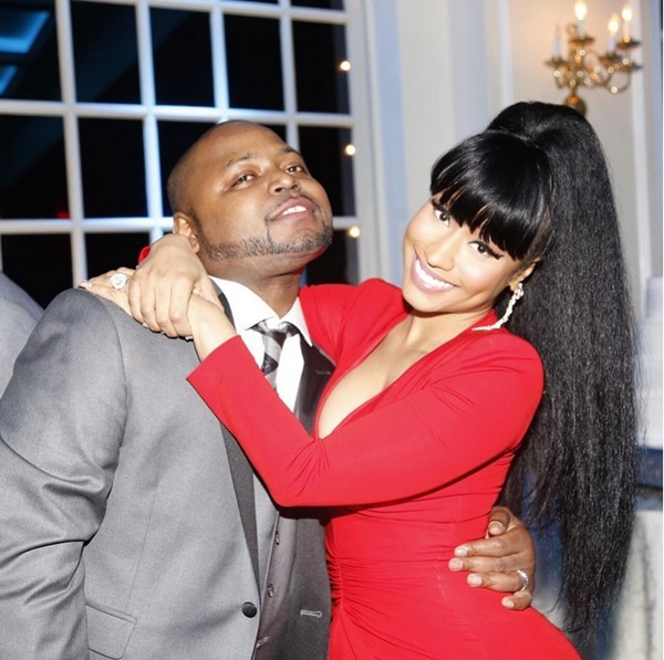 Nicki Minaj e o irmão Jelani  (Foto: Instagram)
