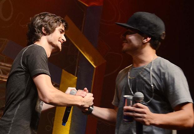 Fiuk e Thiago Martins (Foto: Ari Kaye/Divulgação)