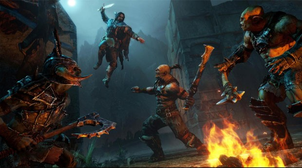 Cena de 'Middle-Earth: Shadow of Mordor' (Foto: Divulgação/Monolith)