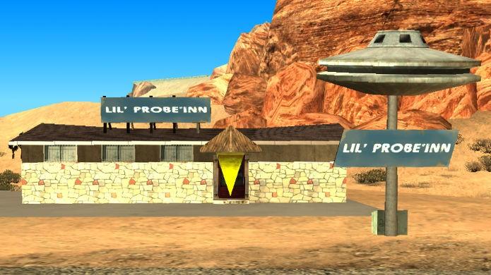 GTA San Andreas: o simpático Lil Probe Inn escondido no deserto (Foto: Reprodução/Wikipedia)