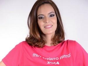 Nicole Kuster, finalista do Miss ES 2014 (Foto: Wanderson Lopes/Divulgação)
