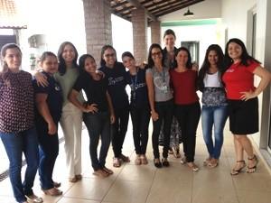 Funcionários da Rede Amazônica se reuniram para comemorar a data (Foto: Raniel Silva Sousa/TV Roraima)