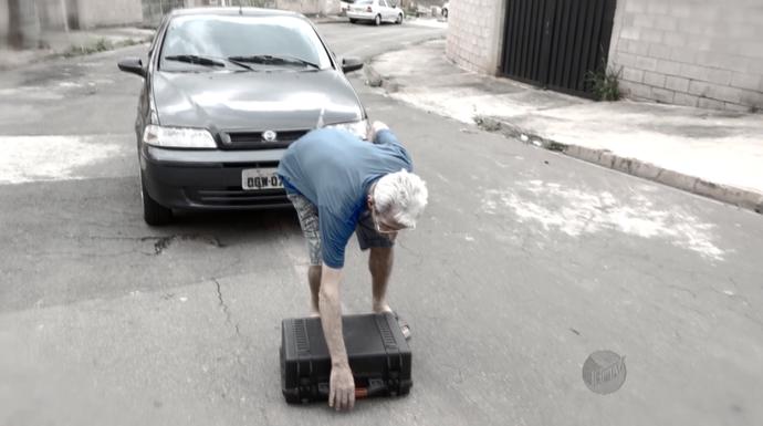 A atitude de Lorival de devolver a câmera do Mais Caminhos foi um dos grandes presentes de 2015 (Foto: Reprodução EPTV )