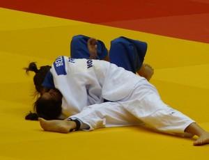 Mariana Silva x Anne-Laure Bellard, mundial de Judô (Foto: Raphael Andriolo)
