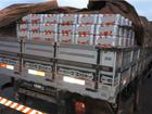 Carga com 24,9 mil latas de cerveja sem nota fiscal é apreendida em RO