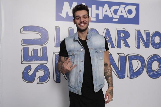 Lucas Lucco vai estrear como ator em Malhação (Foto: Isac Luz/EGO)