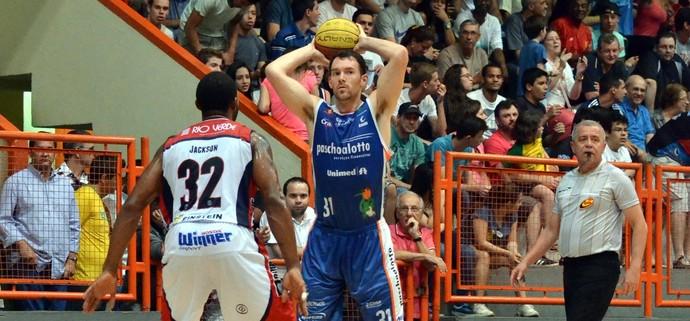 Limeira x Bauru Ricardo Fischer Paulista de basquete (Foto: Henrique Costa / Bauru Basket)