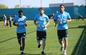 Cedido ao Peñarol, Maxi se recupera de lesão no Grêmio e corre no campo