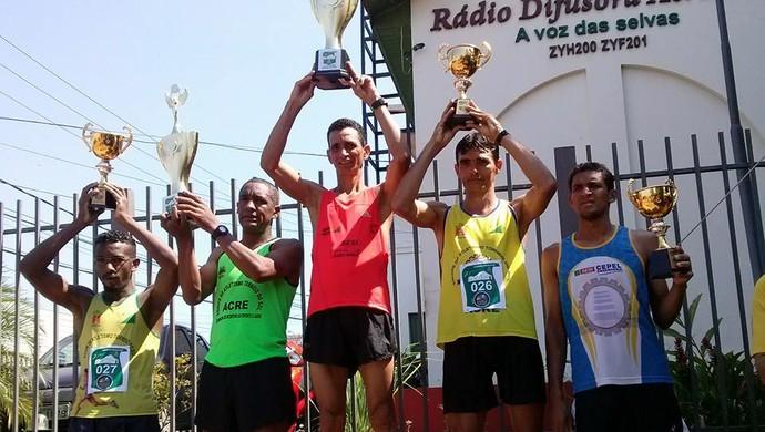 Evandro Saraiva, atletismo Acre (Foto: Duaine Rodrigues)