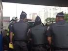 Alckmin e Aécio se encontram para ir juntos a protesto na Av. Paulista