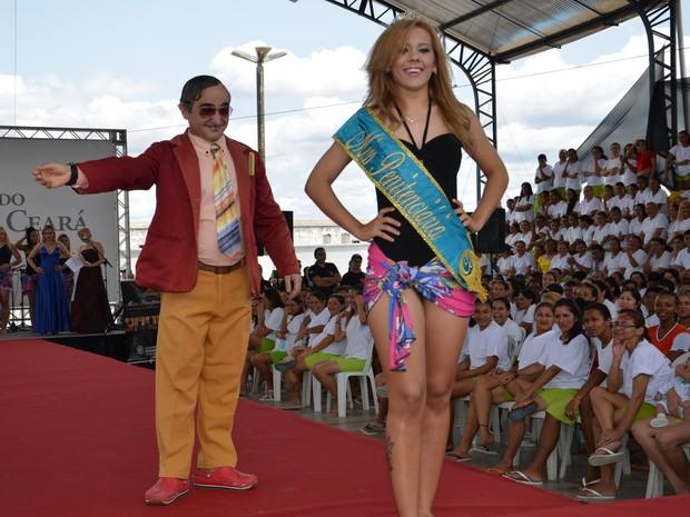 Miss Penintenciária Ceará 2013 (Foto: Secretaria da Justiça/Divulgação)