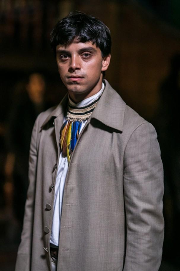 Rodrigo Simas como Piatã (Foto: TV Globo)