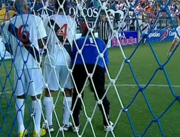 FRAME - Vasco Botafogo showbol (Foto: Reprodução SporTV)