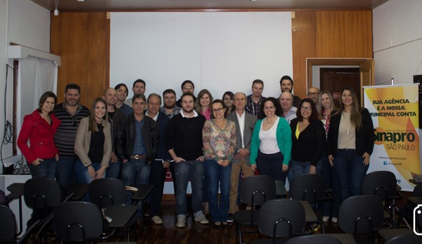 Representantes de agências de publicidade se reuniram para acompanhar palestra (Foto: Divulgação)