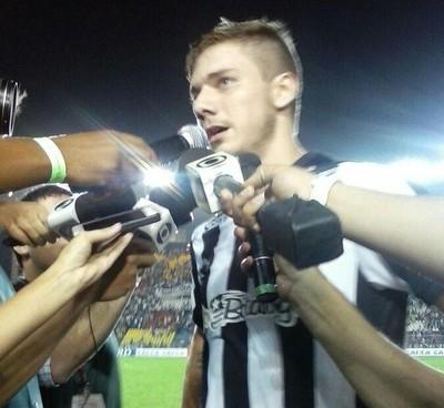 Luís Henrique marcou o terceiro gol do Botafogo (Foto: Divulgação/Botafogo)